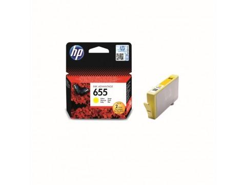 HP 655 KARTUŞ - HP 655 SARI KARTUŞ - HP CZ112AE KARTUŞ