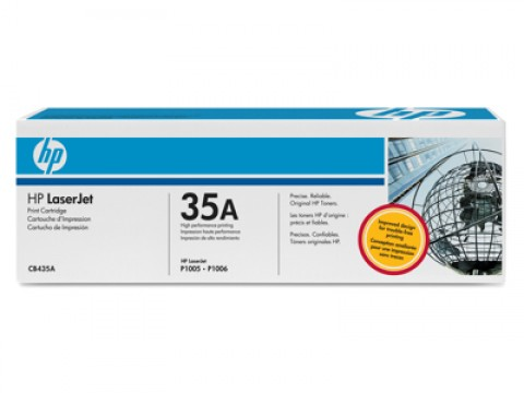 HP 35A TONER, HP CB435A TONER, HP LaserJet P1005, P1006, P1009 Toner