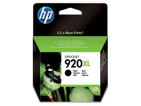 HP 920XL SİYAH KARTUŞ, Hp Officejet 7000N, 7500A, 6500, 6000 Kartuş, HP CD975A Kartuş