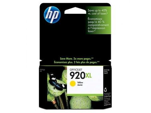 HP 920XL SARI KARTUŞ - Hp Officejet 7000N / 7500A / 6500 / 6000 Kartuş - HP CD974A Kartuş